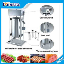 stainless steel automatic electric sausage stuffer for sale 15L / 20L / 25L 110v/220v