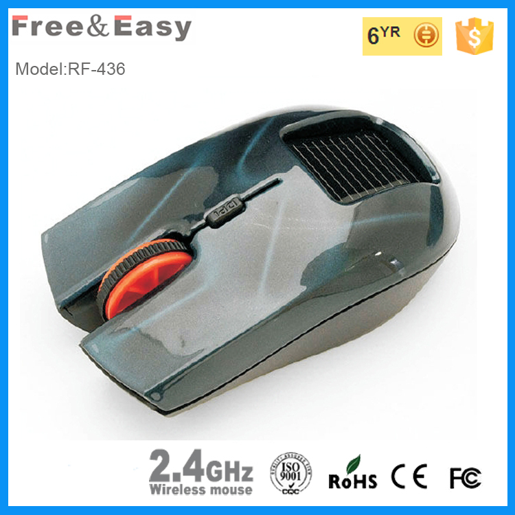 2.4G wireless solar mouse