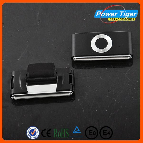 Hot sale of high quality universal plastic Cipher seat belt buckle