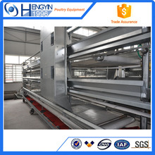 H Type Multi-tier Hot Galvanized Automatic Chicken Cage with High Quality