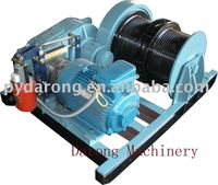wire rope winch, material handing equipment, steel cable windlass