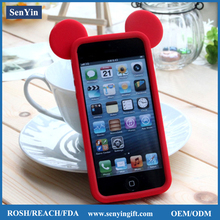 High Quality Fashionable 3D Animal Shape Mobile Phone Case For Iphone