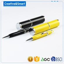 2016 hot sale funny fat ballpoint metal stylus pens gun with custom logo ad colour for pad screen
