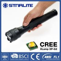 STARLITE aluminum alloy 300 lumens super bright 300 meters range flashlight