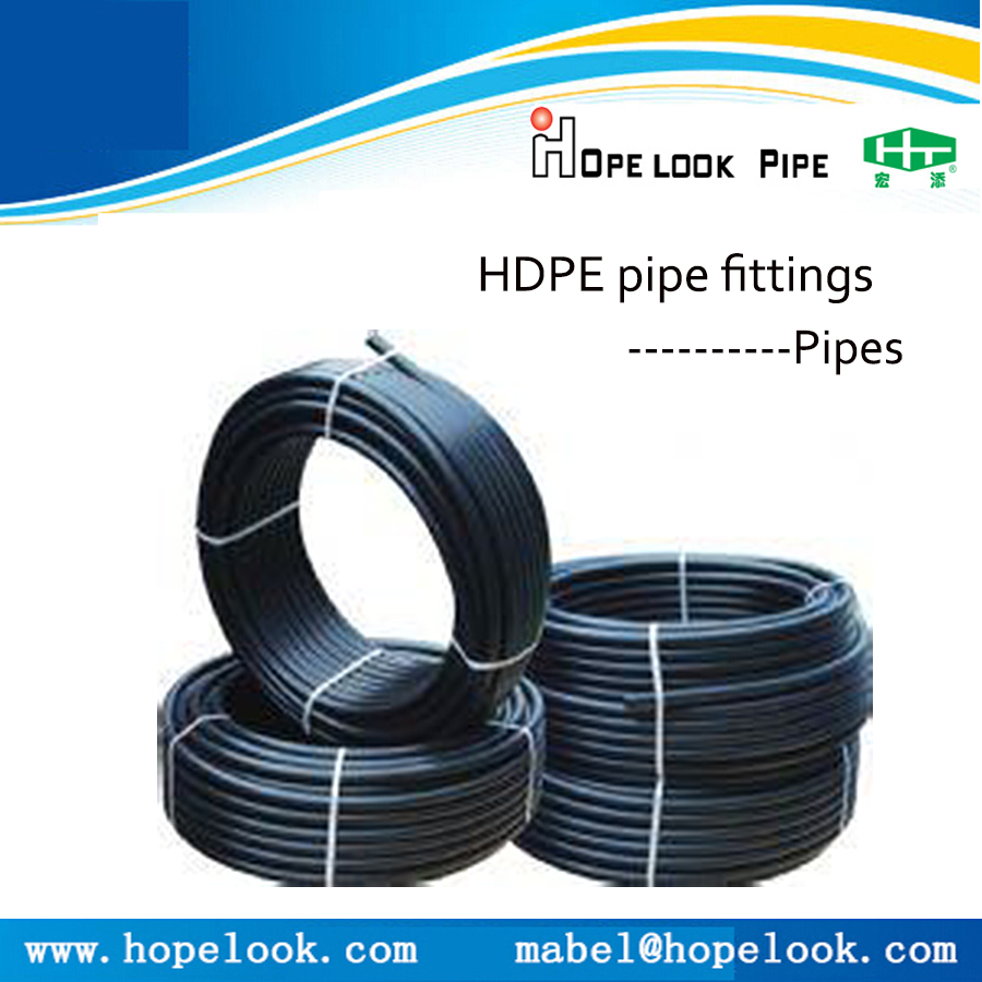 Pipe manufacturers hdpe drainage system plastic