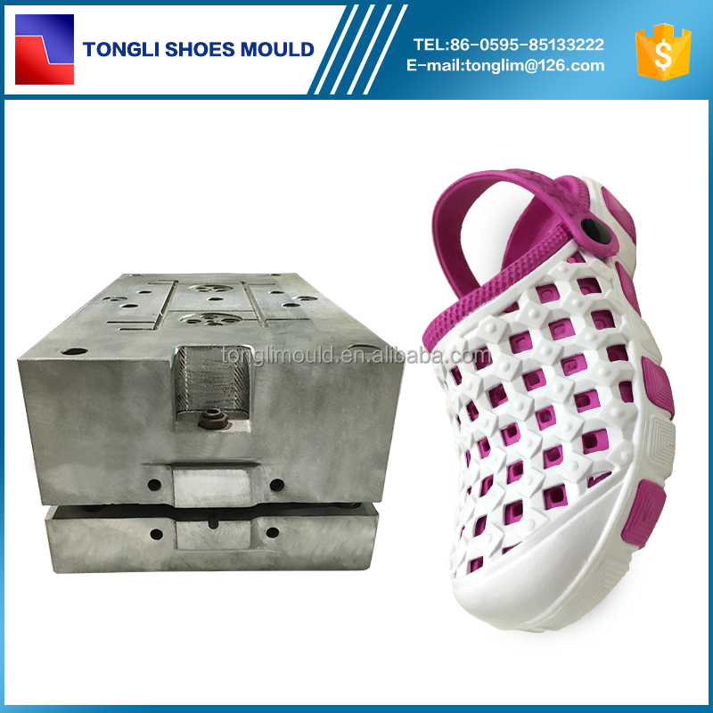 Two Color EVA Injection Plastic Shoe Last Mould for Crocs