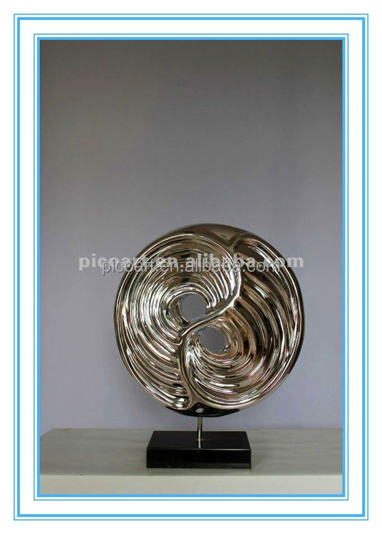 new products electroplated composite interior sculpture