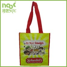 Food shopping grocery reusable ecofriendly laminated pp woven tote bag wholesale