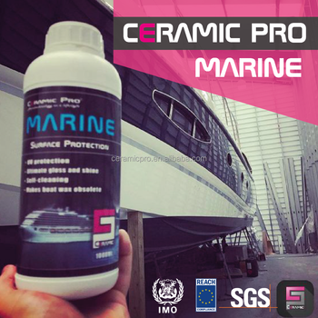 Ceramic Pro - Liquid Diamond Protective Coating for yacht, boat and ship