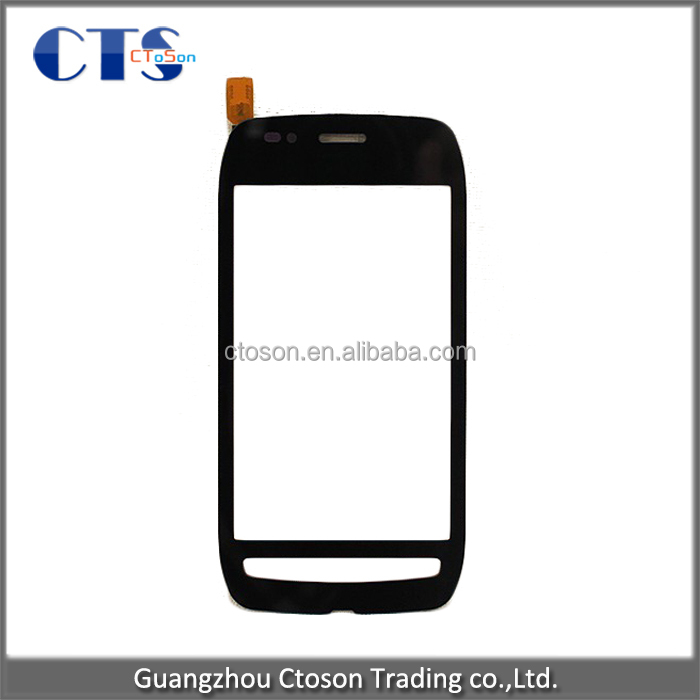 New original Replacement Black Touch Screen front glass digitizer panel For Nokia Lumia 710 N710