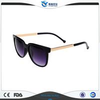 CIYUAN Big Discount 100% Handmade Fashion Style Full Frame Black Plastic Sunglasses