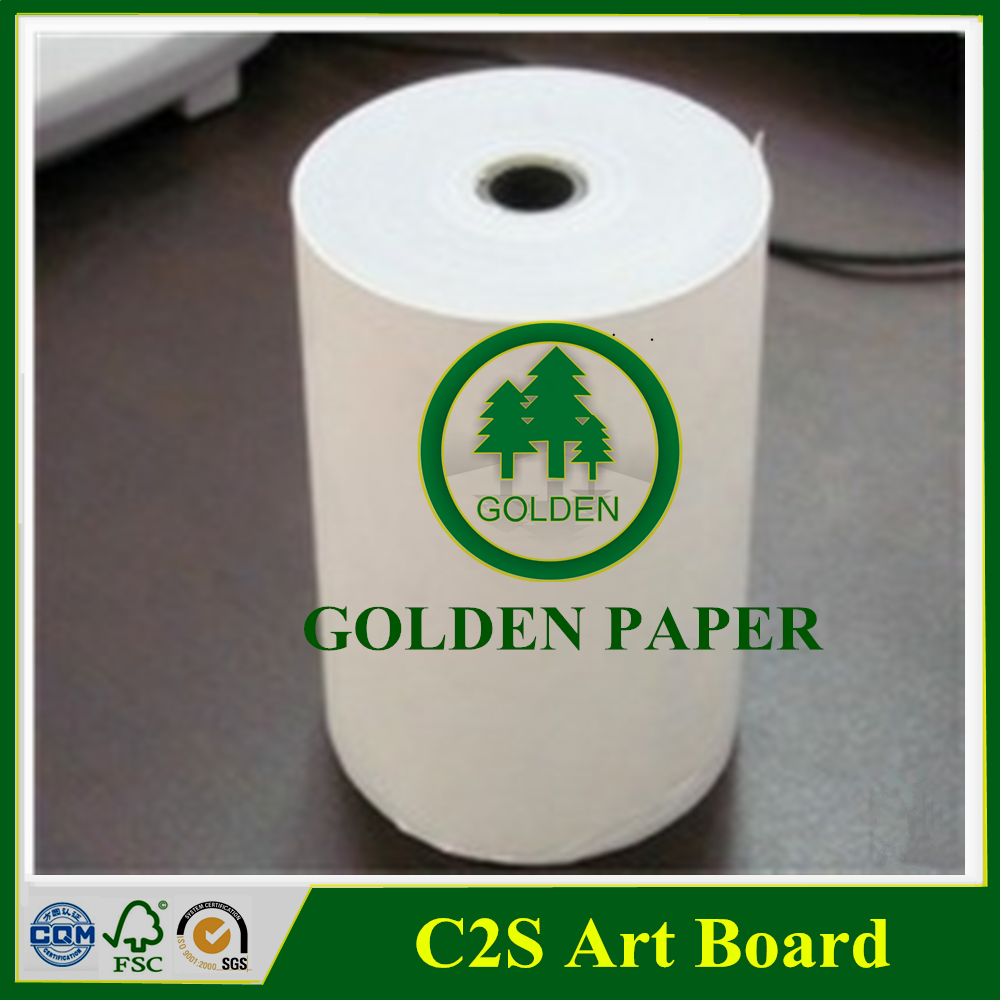 wood pulp coate one side ivory board FBB / GC1 GC2 for printing and packing
