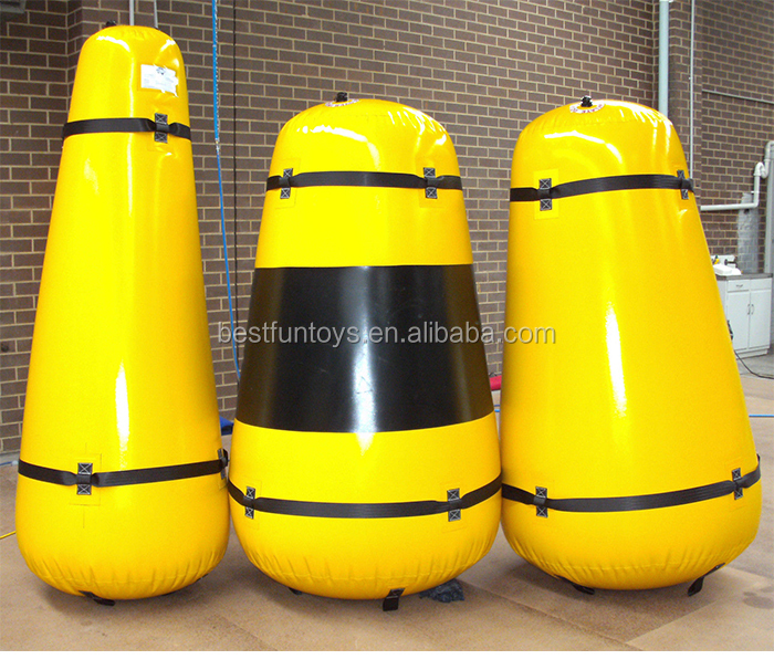 factory customized inflatable marker buoy plastic water buoys life buoys for sale