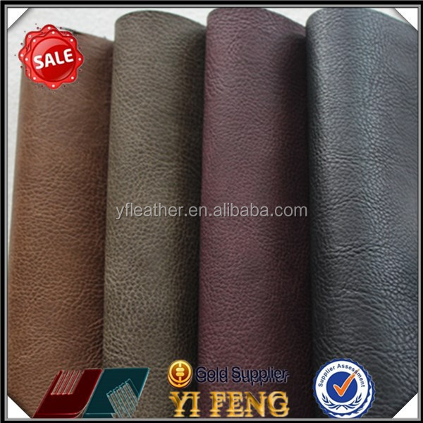 Luxury bed cover material, pu bonded leather