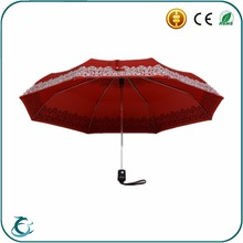 Fancy gift color changing printing folding magic umbrella when wet