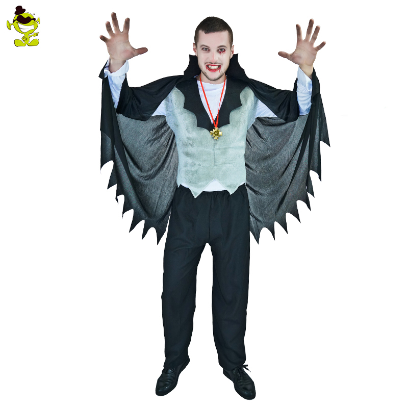 Wholesale adults man halloween costume classic vampire bat masquerade costumes for party men