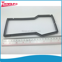 U shape high temperature resistant silicone rubber seal strip silicone u seal gasket