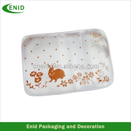 Waterproof transparent pvc pencil bag for office