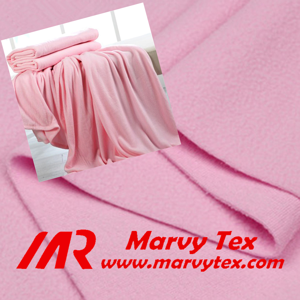 100% Polyester Material fleece fabric for blankets knitted anti-pilling polar fleece for garments and hometextile ect.
