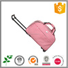 cute lady high quality trolley travel bag