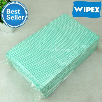 OEM disposable household cleaning wiping cloth for home