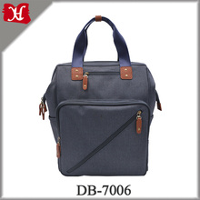 Customized high quality waterproof big capacity mummy baby nappy diaper bag backpack