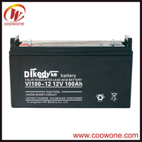 12v 100ah Sealed Lead Acid Deep Cycle Battery for Solar And Wind Units