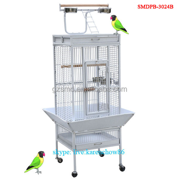 Supply New Style Large Play Top Parrot Finch Macaw Cockatoo Bird Cage