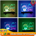 2016 alibaba express newest innovation & best seller factory direct cheapest price shops advertising desktop led writing board