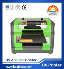 DX5 head A3 size UV digital flatbed multifunctional printer