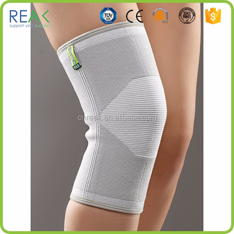 Trendy ventilate sport safety multi color nylon.neoprene with stays below knee support stockings