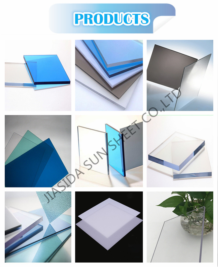 6mm Clear Anti-static Polycarbonate Sheet, pc hardened sheet