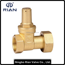 Brass Gate Valve For Water Meter With Lock