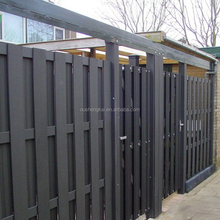 HNOSK WPC Factory Best Quality Easy Installation wpc fence/wpc panel/wood plastic composite fence panels