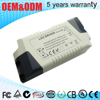 4A 50W plastic housing Constant voltage 12v led driver with PF 0.9 for led light