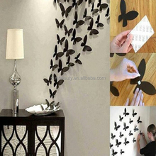 New design DIY Paper flying butterflies for wall decoration
