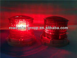 Customized Solar Led Flashing Warning Light ( Airport, coast, lighthouse, ship )