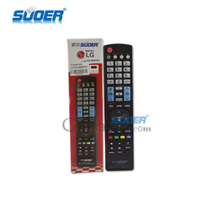 Suoer LCD LED Universal TV Remote Control with CE ROHS
