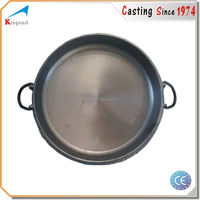 Custom Korea high quality best price cast iron grill pan with removable handle