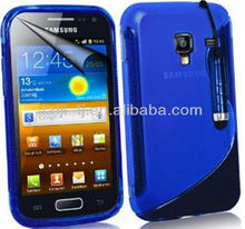 Samsung Galaxy Ace 2 I8160 TPU Hydro Gel Case Covers, Screen Protector, Touch Screen Stylus And Polishing Cloth