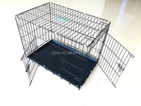 High quality double dog cage
