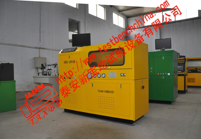 CR3000A common rail system test bench with CE certification