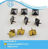2014 Custom pyramid metal clothing studs