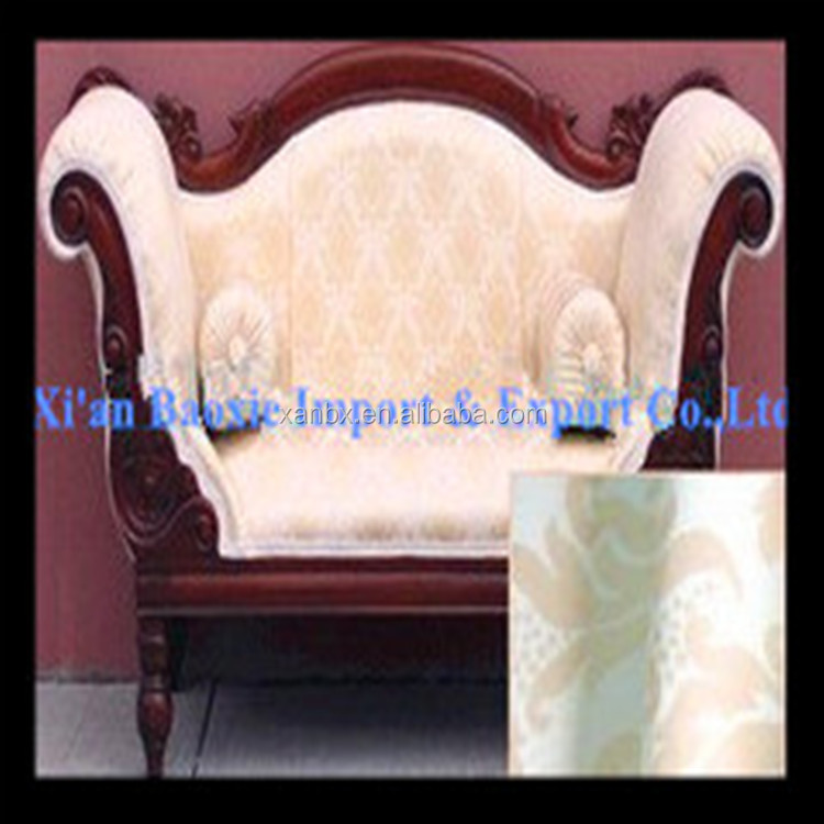 Alibaba suppliers 100% polyester jacquard curtain sofa furniture fabric