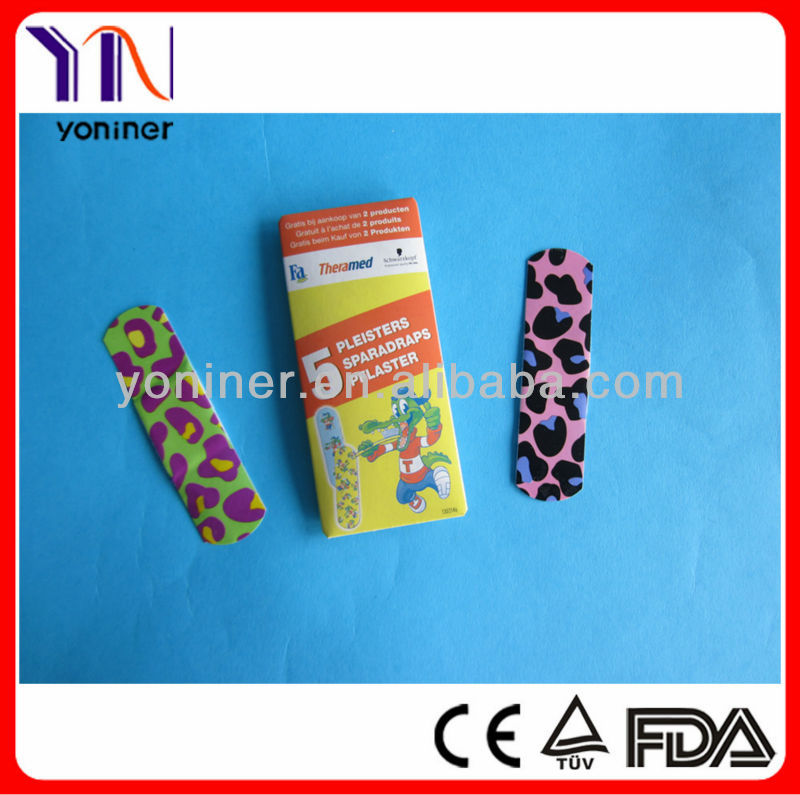 medical different shape band aid adhesive plaster