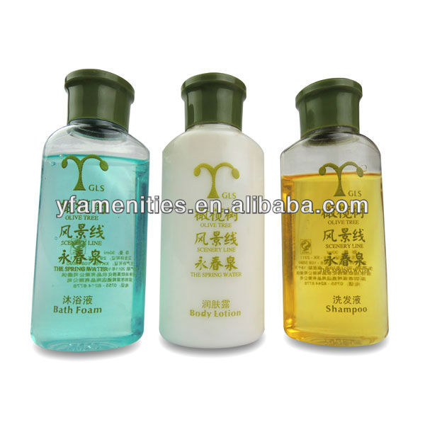 30ml 40ml 50ml hotel shampoo&hotel cosmetic bottle&hotel shampoo bottle