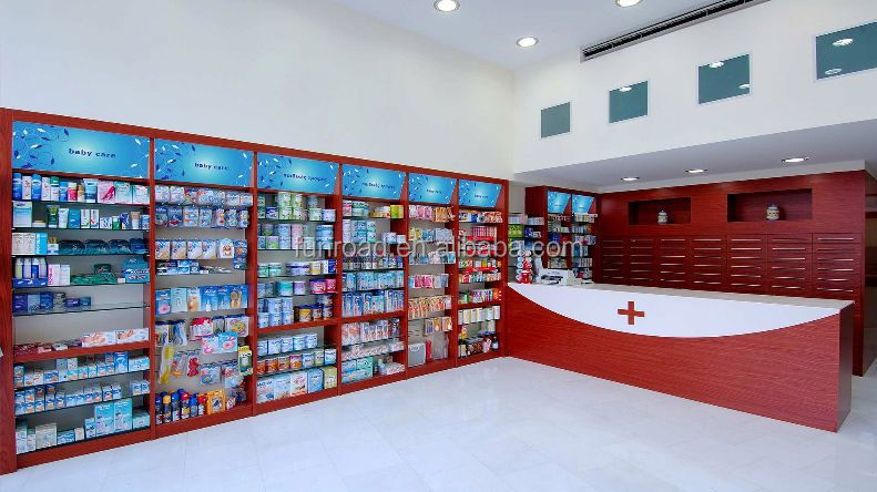 Boutique department store furniture for pharmacy store for Department stores that sell furniture