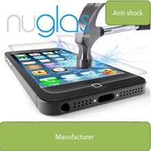 for apple iphone 5& 5s tempered glass screen protector factory, raw materials from Japan