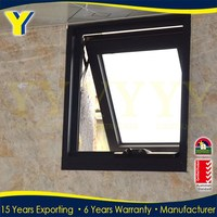 double glazed windows /hurricane impact windows and doors / aluminium top hung window