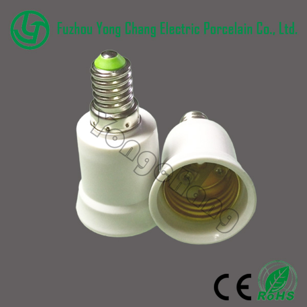 Adapter e14 e27 types of electric lamp holders adaptor